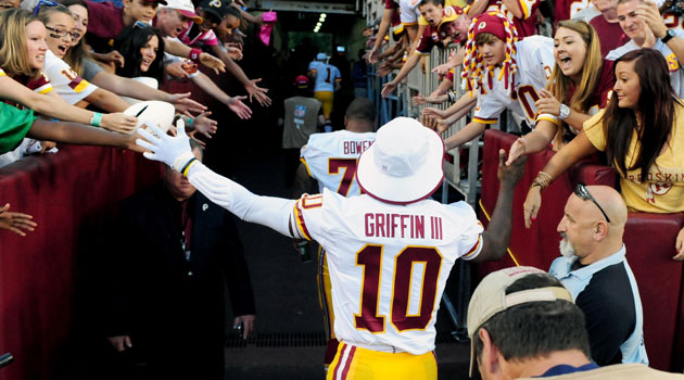 Robert Griffin III tweets that he's 'cleared' for Week 1.