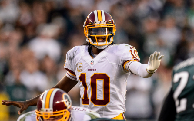RG3 and the Skins have lost four out of five to fall into last place in the NFC East.
