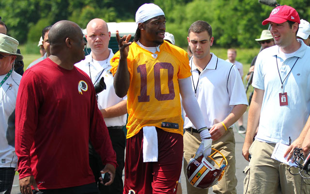 Robert Griffin III says players have concerns about Thursday night games.