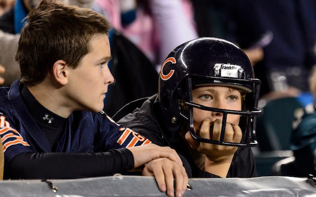 Now that Aaron Rodgers is starting, Bears fans seem a little more nervous. (USATSI)