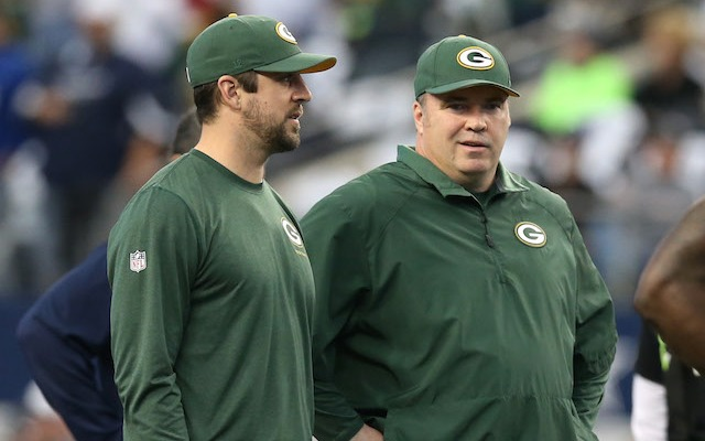 Packers coach Mike McCarthy will make a quarterback announcement on Friday. (USATSI)