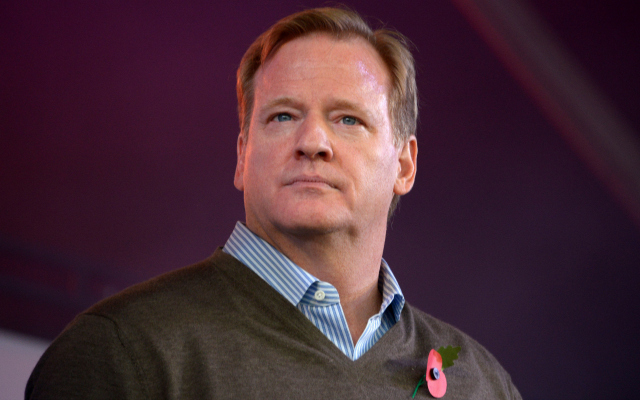 Roger Goodell hung out Tuesday on Twitter. (USATSI)