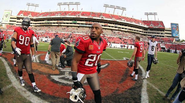 Ronde Barber is retiring from the NFL.' (USATSI)