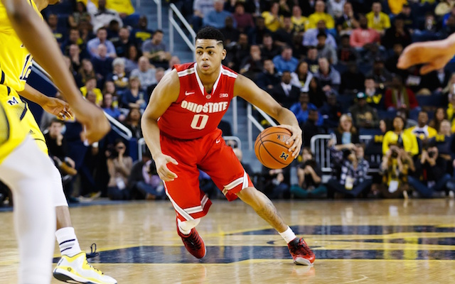 D'Angelo Russell will be in Chicago for the draft combine next week. (USATSI)