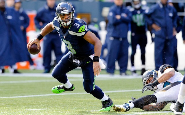 Will Seahawks quarterback Russell Wilson win the NFL's first-ever MVPTNPM award? (USATSI)
