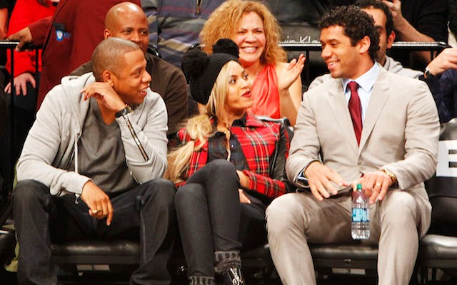 Russell Wilson doesn't just want to hang with the stars, he wants to dance with them. (USATSI)