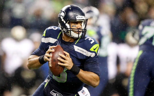 Can anyone stop Russell Wilson and the Seahawks? That's a rhetorical question. The answer's no. (USATSI)