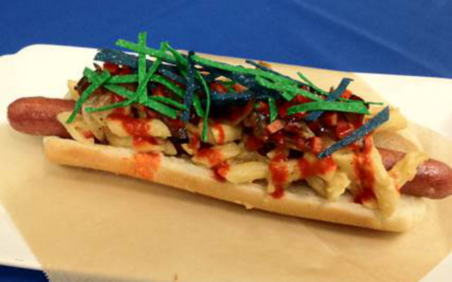 The Seahawks are unveiling the 'DangeRuss' hot dog to honor Russell Wilson.