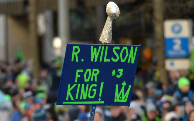 Russell Wilson has high ambitions.