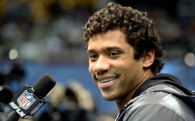 Russell Wilson is always 'planning ahead.'