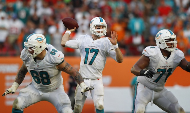 Ryan Tannehill and the AFC East are taking over the Division Power Rankings. (USATSI)
