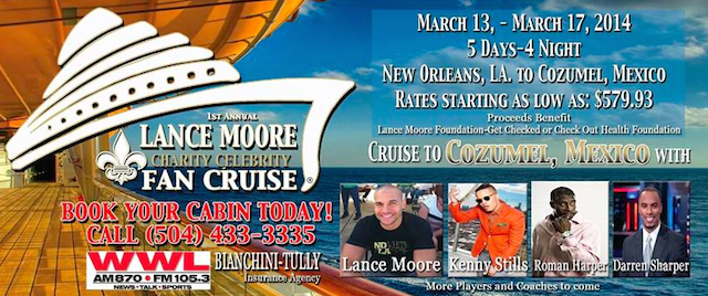 This cruise poster could be a collector's item someday. (Facebook)