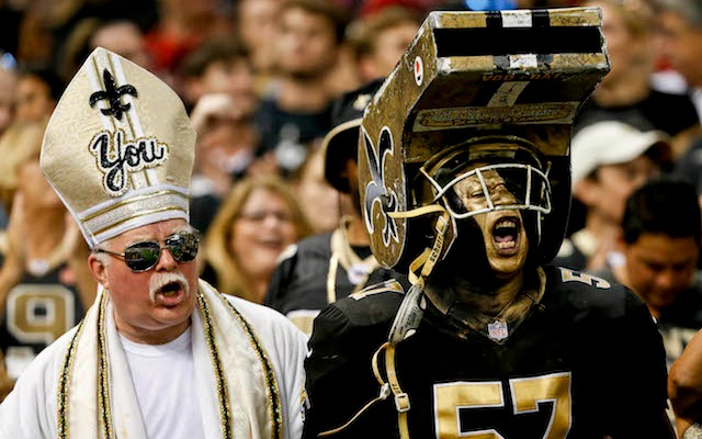 This is what the 49ers will have to deal with in New Orleans on Sunday. (USATSI)