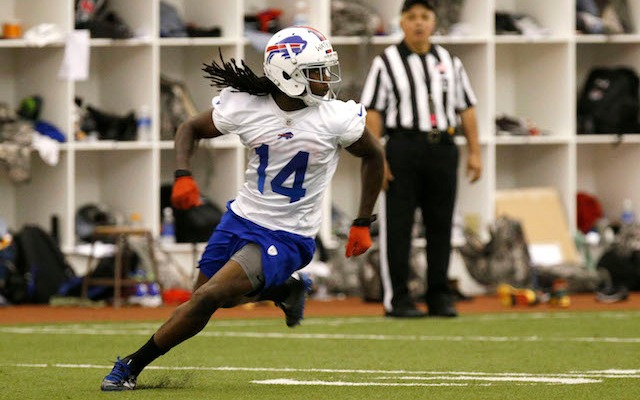Sammy Watkins is still working on his connection with EJ Manuel. (USATSI)
