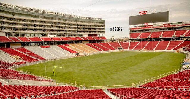 The 49ers new stadium is actually in Santa Clara. (Twitter/@49ers)