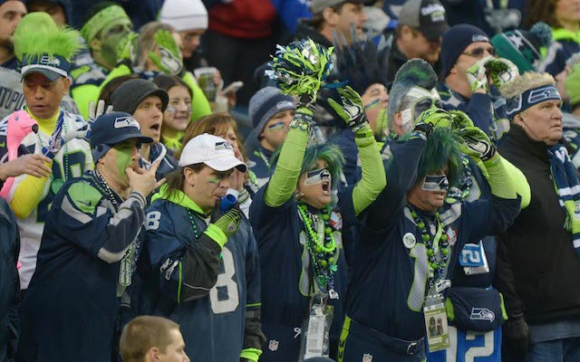 There's a reason you don't see any 49ers fans in this picture from the NFC title game. (USATSI)