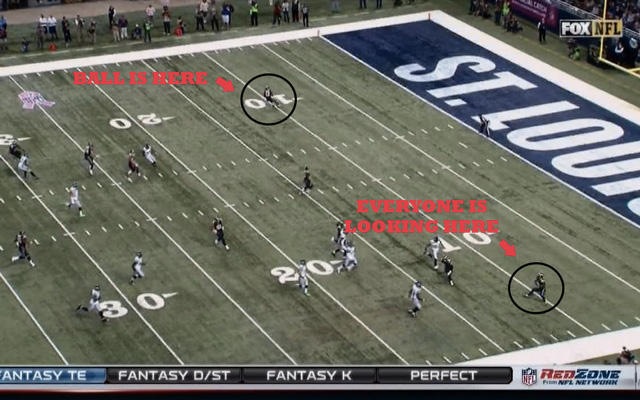 Rams surprise Seahawks with rope-a-dope punt return for a TD