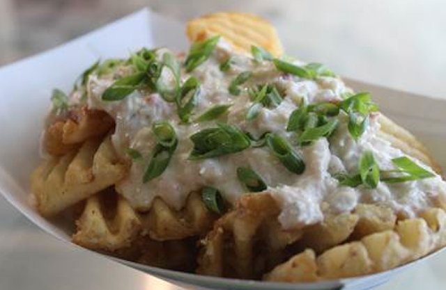 Seattle Crab Fries offered up by the Seahawks.