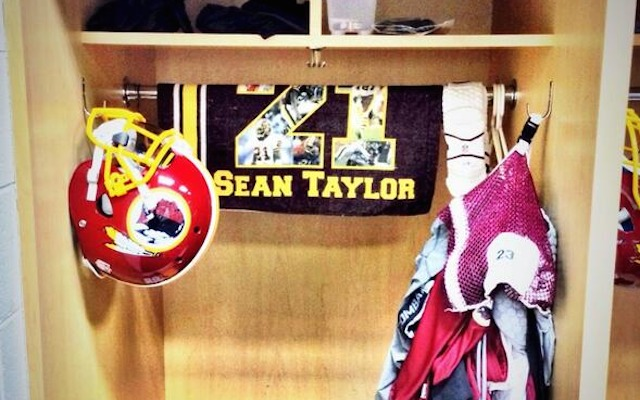 ceb47afbfc4 A Redskins tribute to Sean Taylor from October 2013. (Twitter  Redskins)