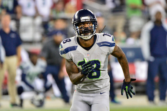 Sidney Rice reportedly has a torn ACL and will miss the rest of the season. (USATSI)