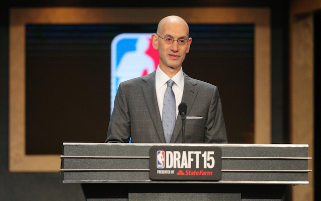 Adam Silver will preside over the draft this year. (USATSI)