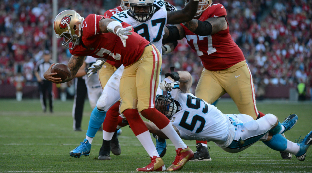 The Panthers defense is terrorizing opponents.