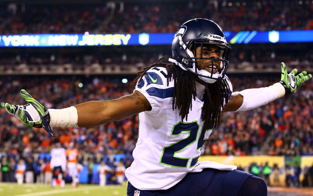 Richard Sherman and the Seahawks smacked Denver in the face.