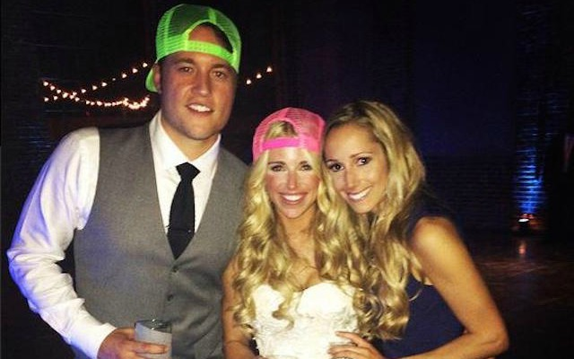 Watch Matthew Stafford Runs Stairs While On Honeymoon In New
