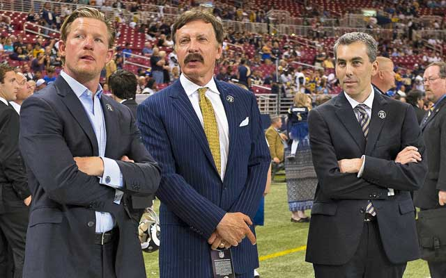 Stan Kroenke's (center) recent L.A. land purchase hasn't gone unnoticed. (USATSI)