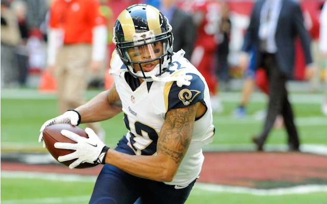 Rams receiver Stedman Bailey will miss the first four games of the 2014 season. (USATSI)