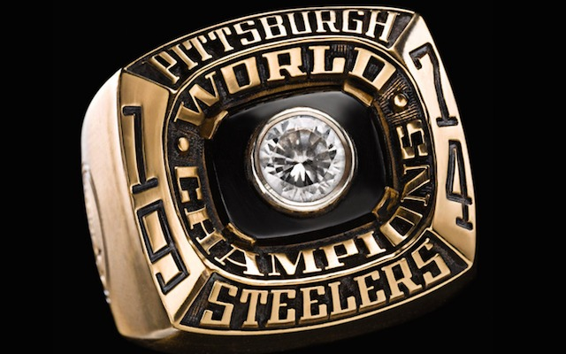 The Steelers won their first ring in 1974. (NFL)