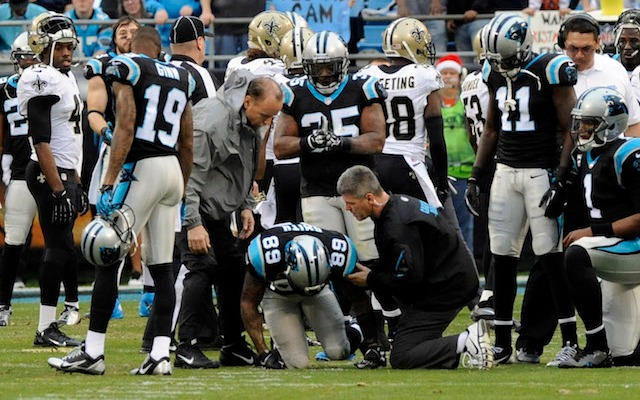 In a span of one day, Steve Smith says his knee has gone from 71 percent to 57 percent. (USATSI)