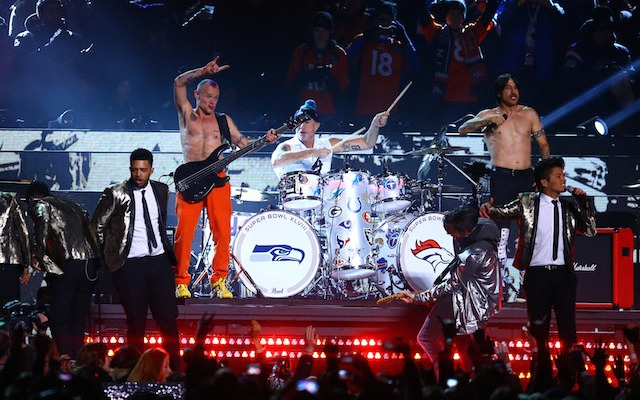 Bruno Mars and the Red Hot Chili Peppers didn't have to pay to play at halftime. (USATSI)