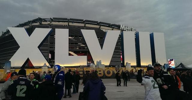 Welcome to MetLife Stadium. (CBSSports.com/John Breech)