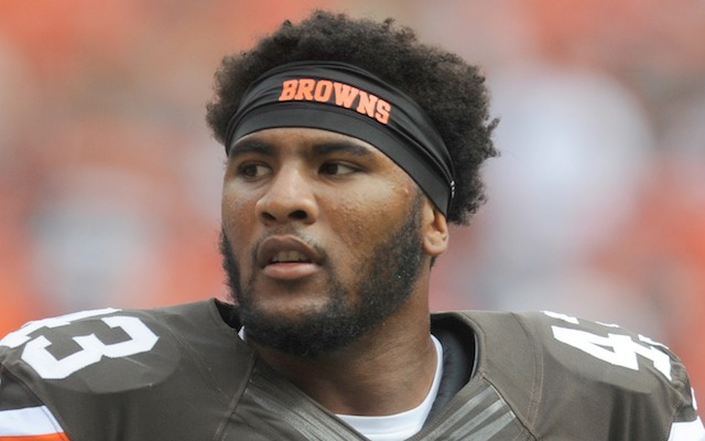 Former Browns safety T.J. Ward, who signed with Denver in March, is due back in court on June 23. (USATSI)