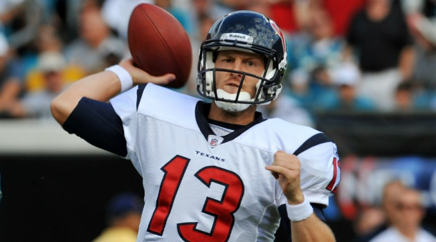 T.J. Yates has been traded to the Falcons. (USATSI)