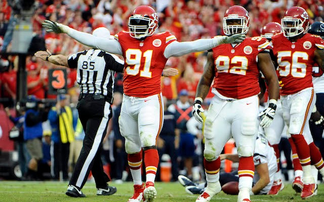 Tamba Hali expects to play against Denver, but that won't be enough to win. (USATSI)