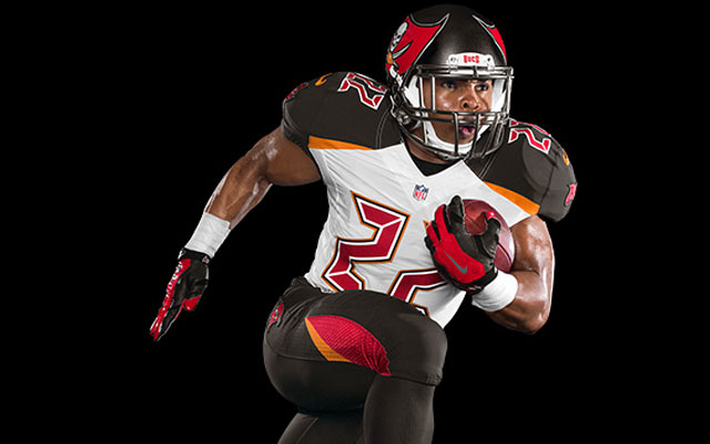 The Buccaneers unveiled new 2014 uniforms on Monday morning.