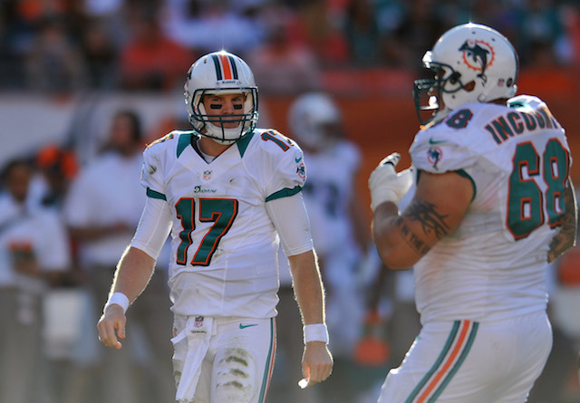 Ryan Tannehill said Jonathan Martin was like Richie Incognito's little brother. (USATSI)