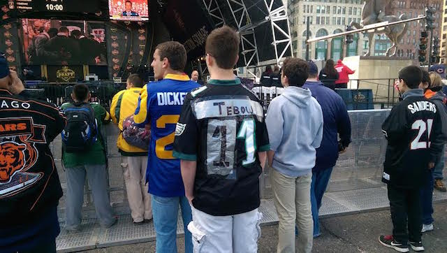 Tim Tebow jerseys cost a lot less when you make them at home. (CBS Sports)