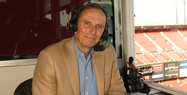 The 49ers have suspended veteran radio play-by-play man Ted Robinson. (49ers)