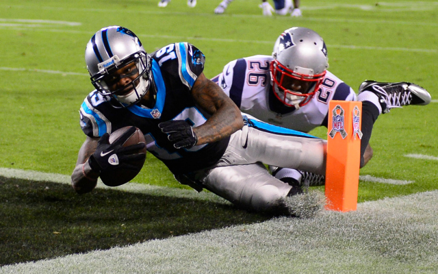 Ted Ginn's touchdown featured a little clock controversy.