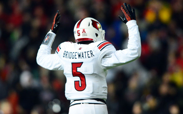 Maybe Teddy Bridgewater to the NFL in 2014 isn't such a lock after all.