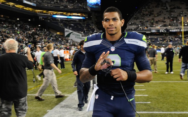 Terrelle Pryor is out in Seattle after only four months. (USATSI)