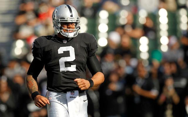 Terrelle Pryor has been named the starter for the Raiders season finale. (USATSI)