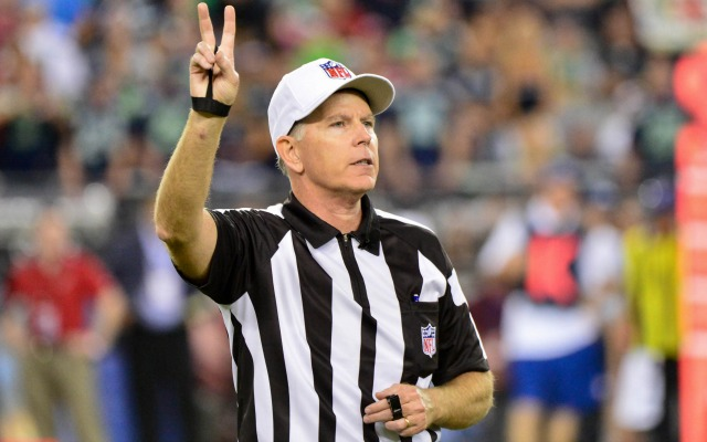 Terry McAuley was named SB XLVIII ref on Wednesday.