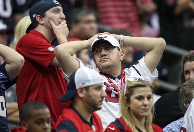 It's been a long week for fans of teams in the AFC South. (USATSI)