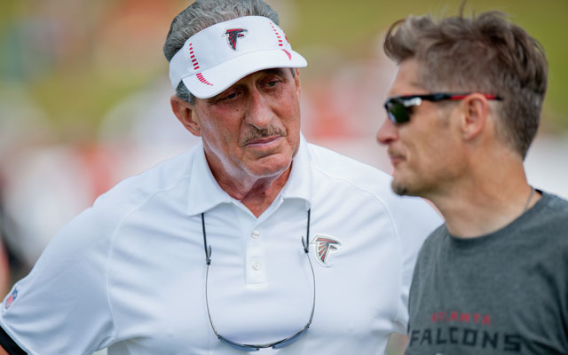 Arthur Blank gave Thomas Dimitroff (and coach Mike Smith) one-year extensions Monday. (USATSI)