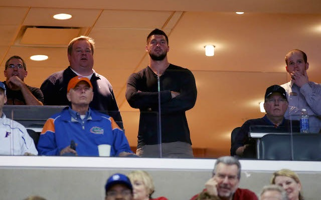 Tim Tebow is Florida's No. 1 fan. (USATSI)