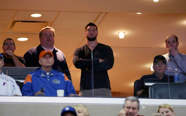 Tim Tebow is patiently waiting for an NFL opportunity that might never come. (USATSI)